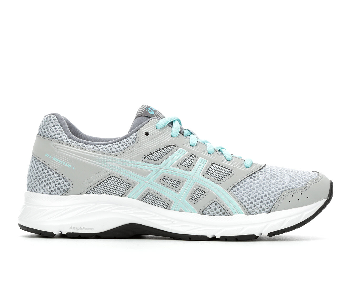 ASICS Gel Contend 5 Women's Athletic Shoe (Gray)