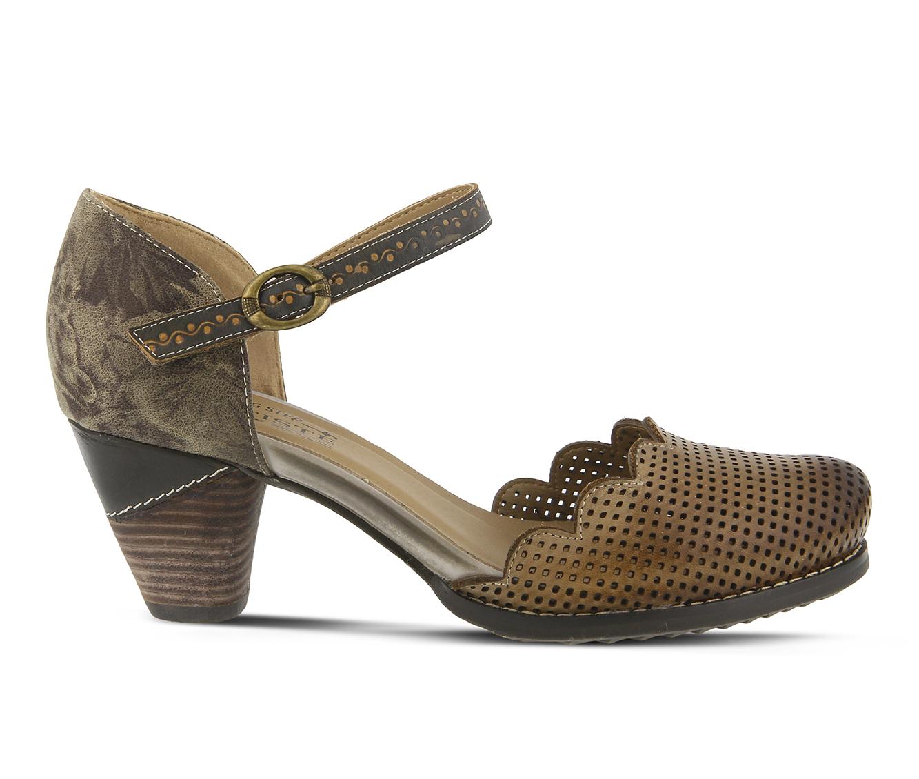 L'Artiste Parchelle Women's Dress Shoe (Gray Leather)