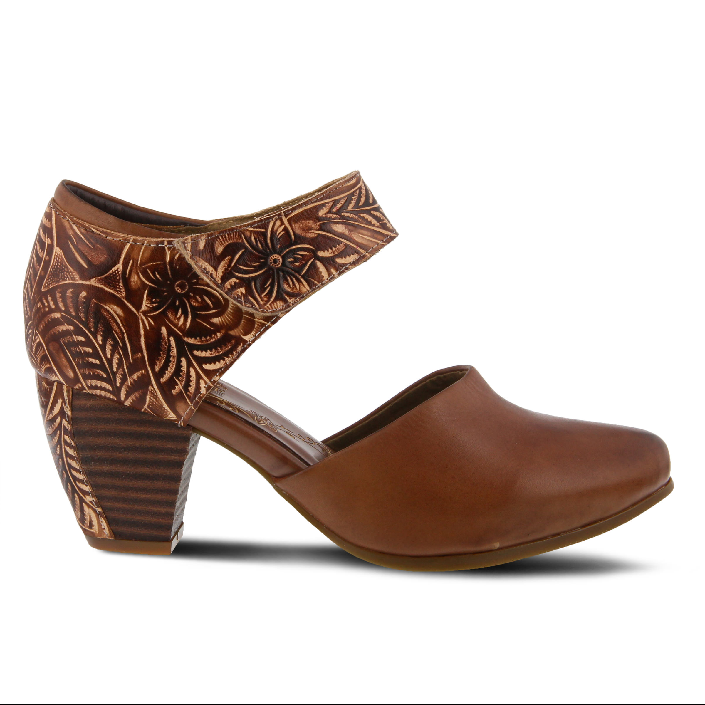 L'Artiste Toolie Women's Dress Shoe (Brown Leather)