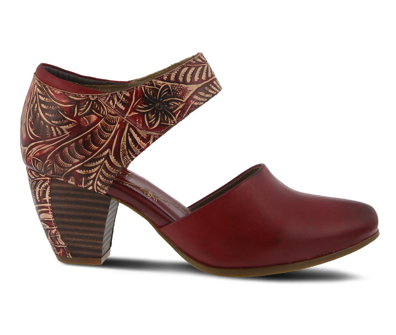 L'Artiste Toolie Women's Dress Shoe (Red Leather)
