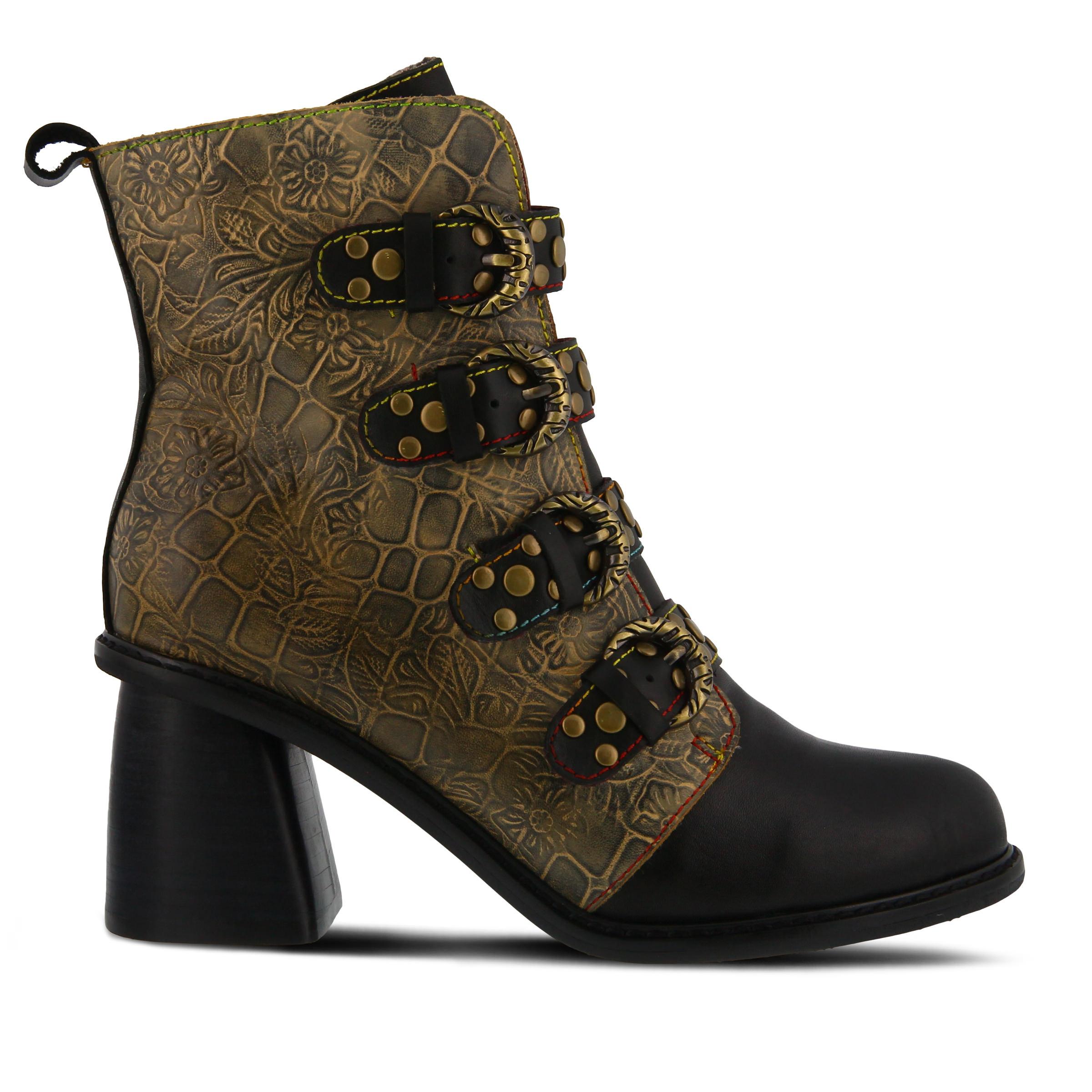 L'Artiste Wonderland Women's Boots (Black Leather)