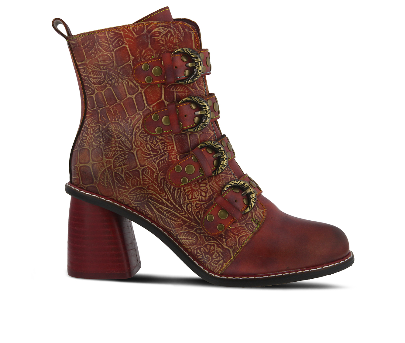 L'Artiste Wonderland Women's Boots (Red Leather)
