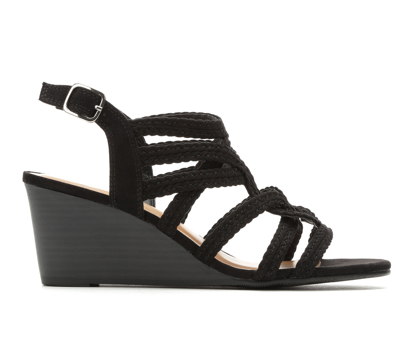 Y-Not Zaidee Women's Dress Shoe (Black Canvas)