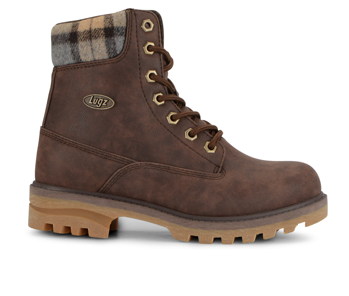 Lugz Empire Hi Women's Boot (Brown Faux Leather)