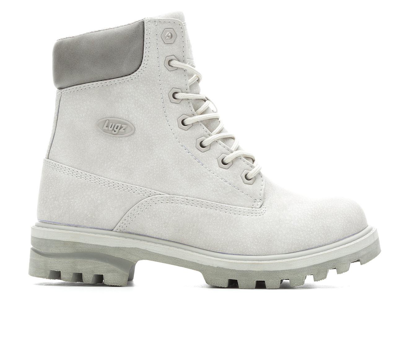 Lugz Empire Hi Women's Boot (Gray Faux Leather)