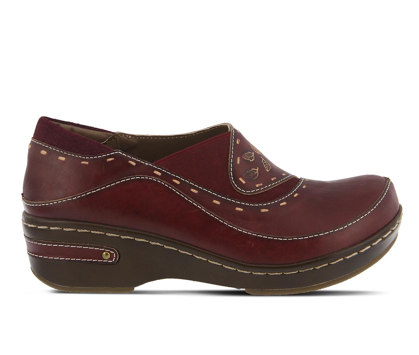 L'Artiste Burbank Women's Shoe (Black Leather)