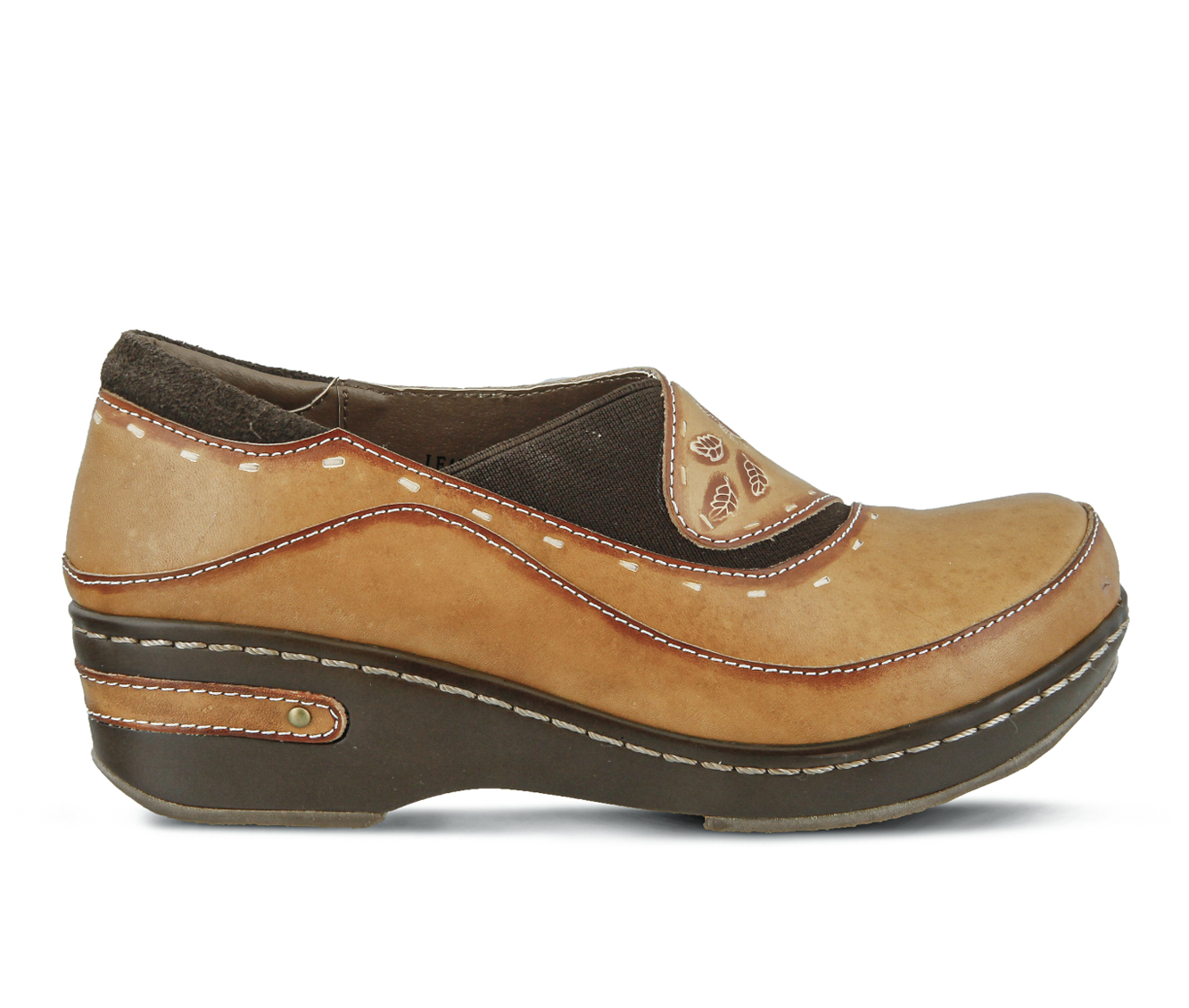 L'Artiste Burbank Women's Shoe (Blue Leather)