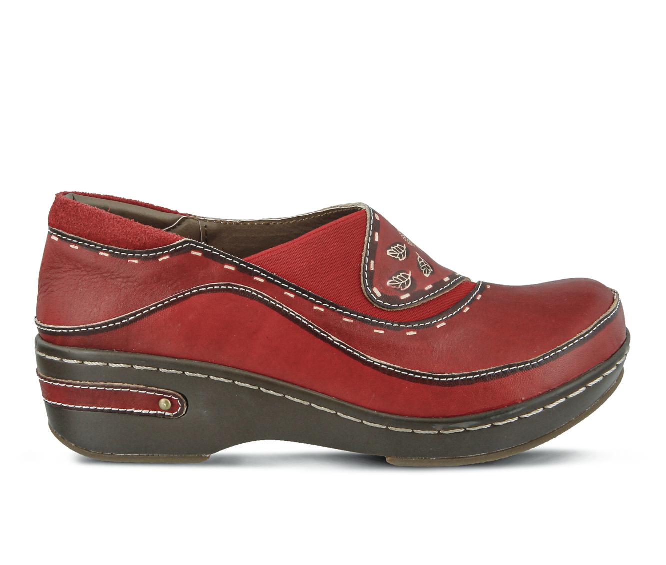 L'Artiste Burbank Women's Shoe (Red Leather)