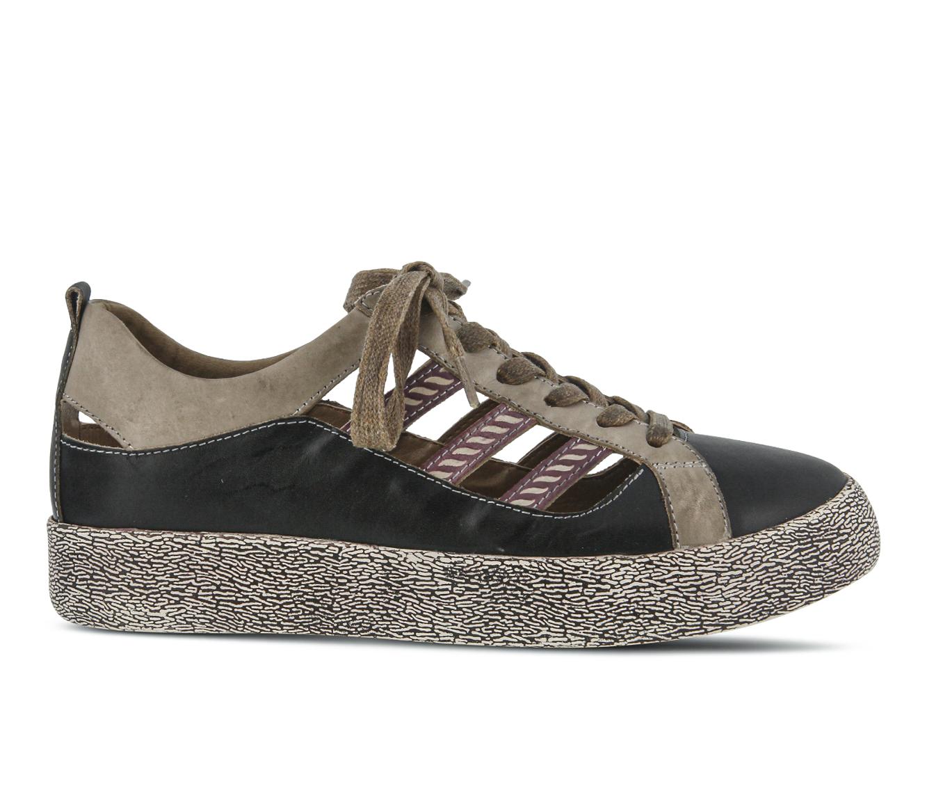 L'Artiste Porscha Women's Shoe (Black Leather)