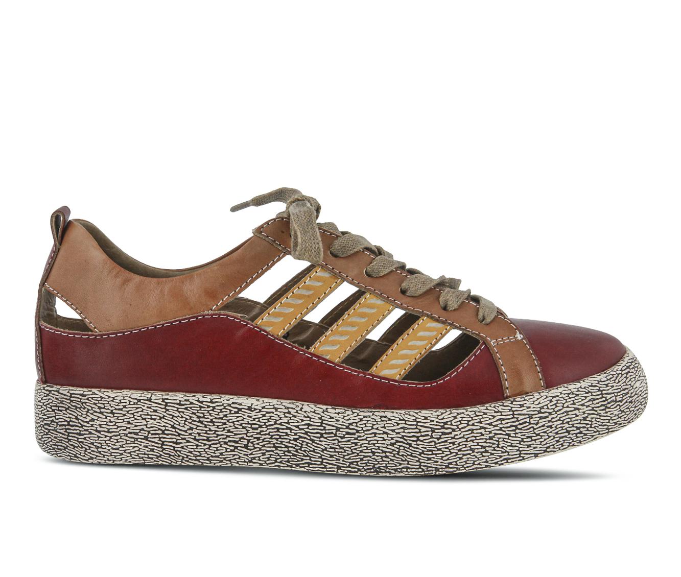 L'Artiste Porscha Women's Shoe (Red Leather)