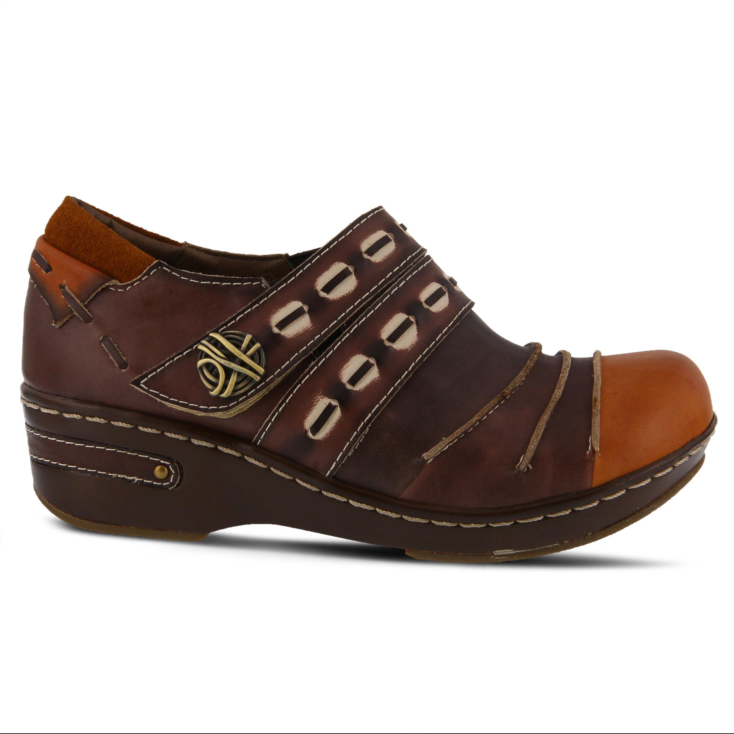 L'Artiste Sherbert Women's Shoe (Brown Leather)