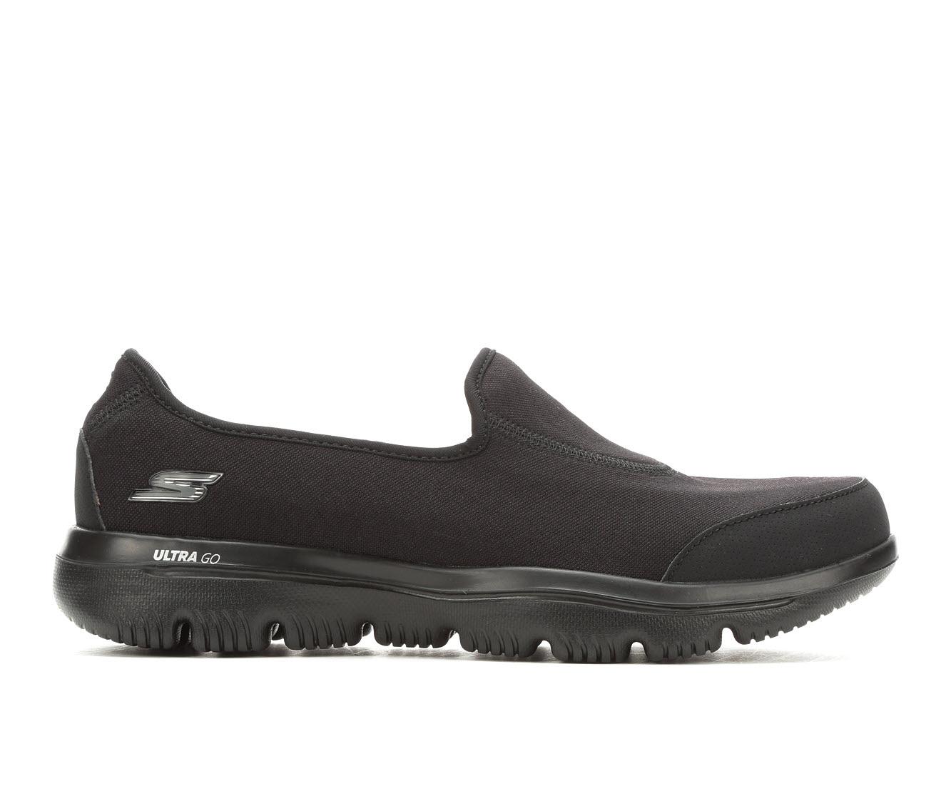 Skechers Go Ultra 15763 Women's Shoe (Black Canvas)