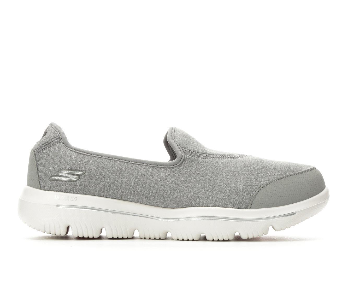 Skechers Go Ultra 15763 Women's Shoe (Gray Canvas)