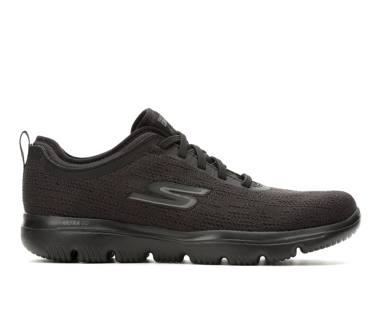 Skechers Go Ultra Mirable 15736 Women's Shoe (Black Canvas)