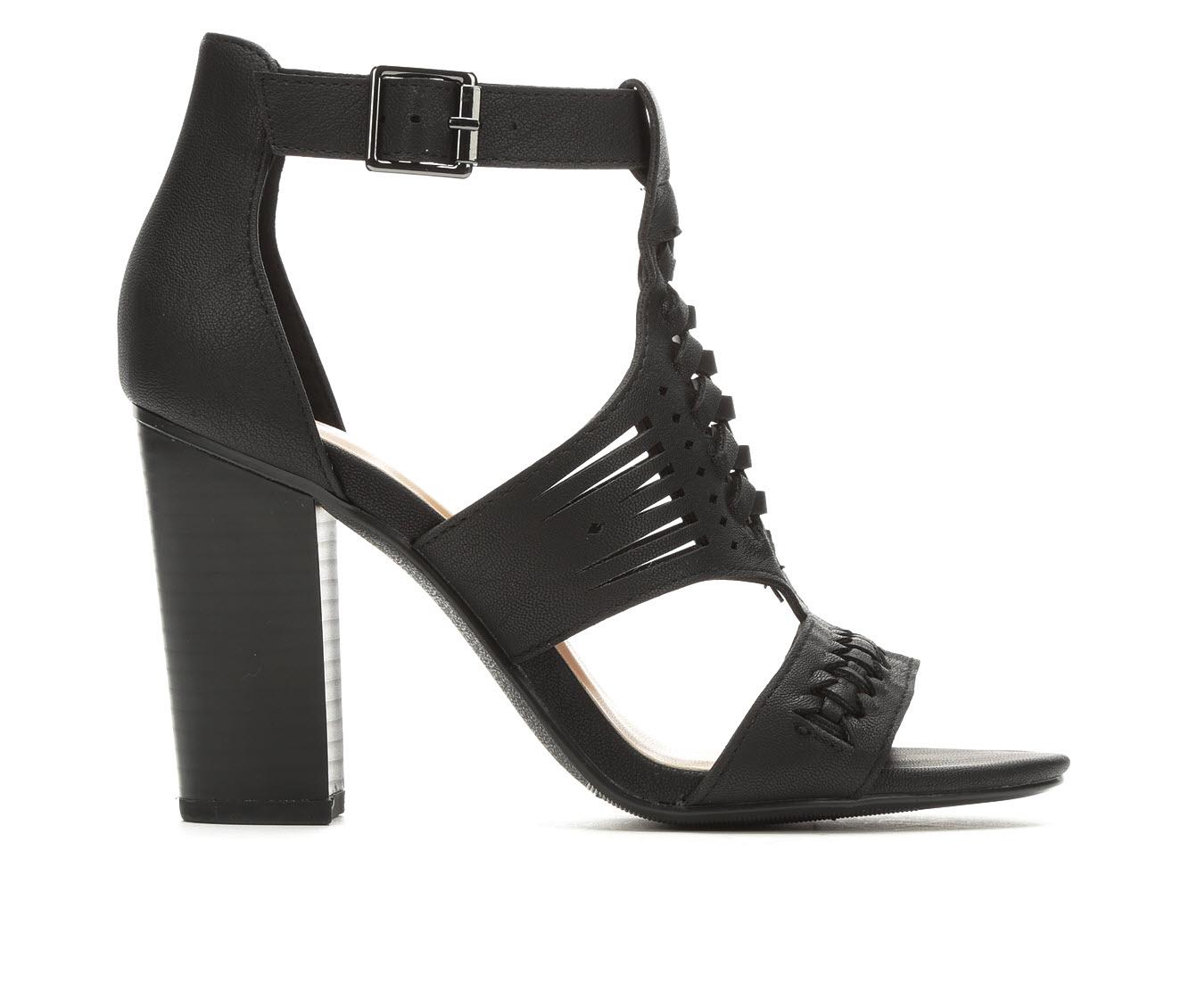 Y-Not Beatrice Women's Dress Shoe (Black Faux Leather)
