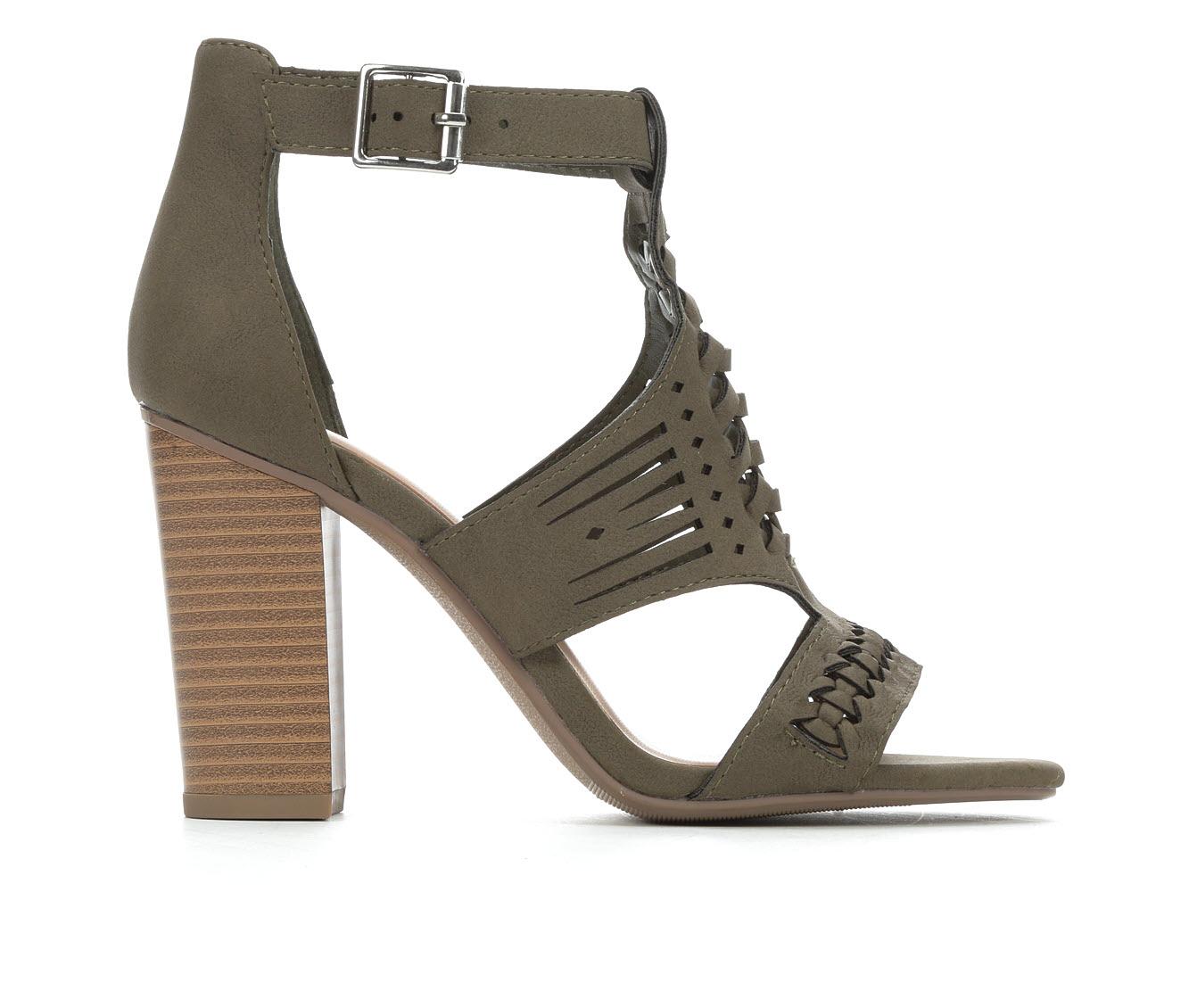 Y-Not Beatrice Women's Dress Shoe (Green Faux Leather)
