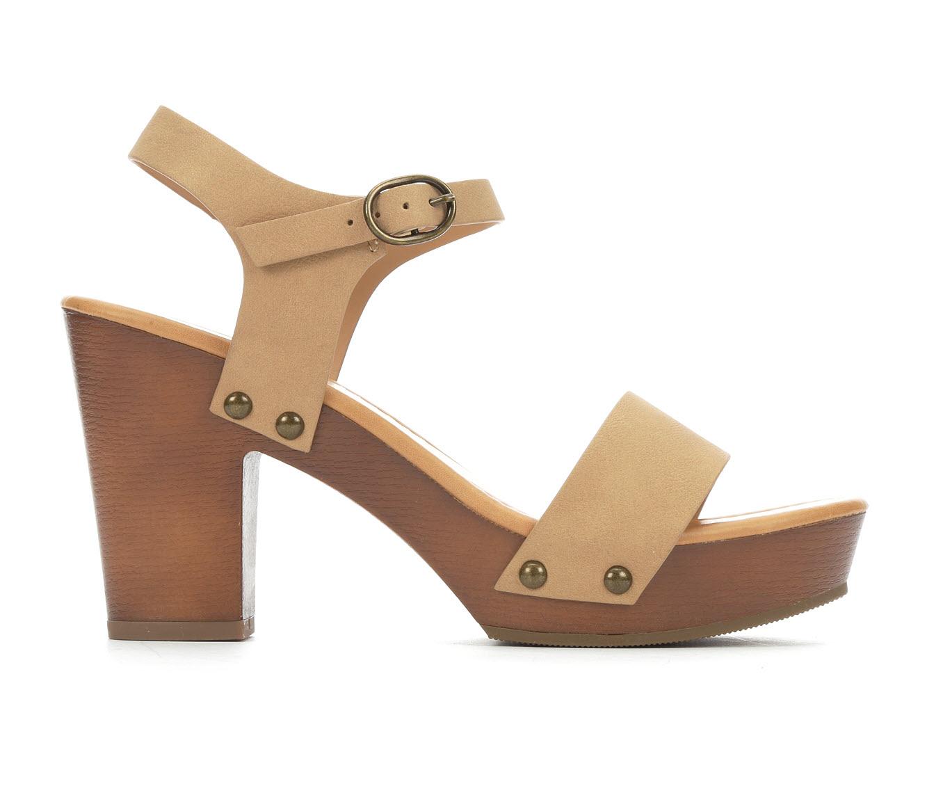 Y-Not Willow Women's Dress Shoe (Beige Faux Leather)