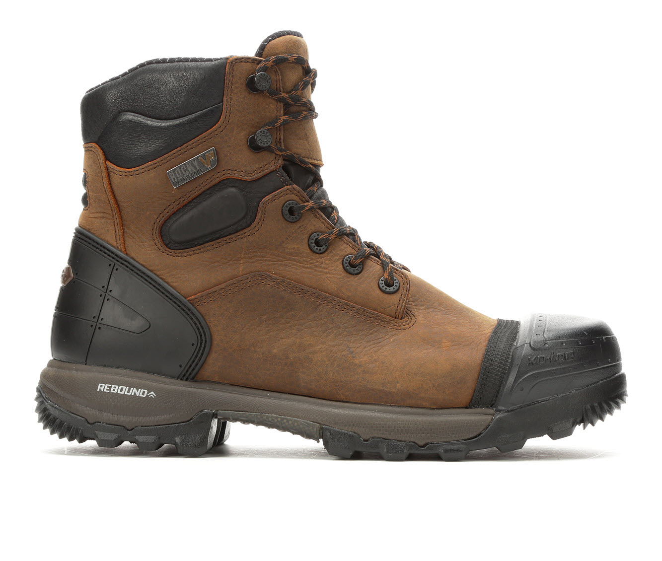 Rocky XO-Toe 6in Composite Toe Men's Boots (Brown Leather)