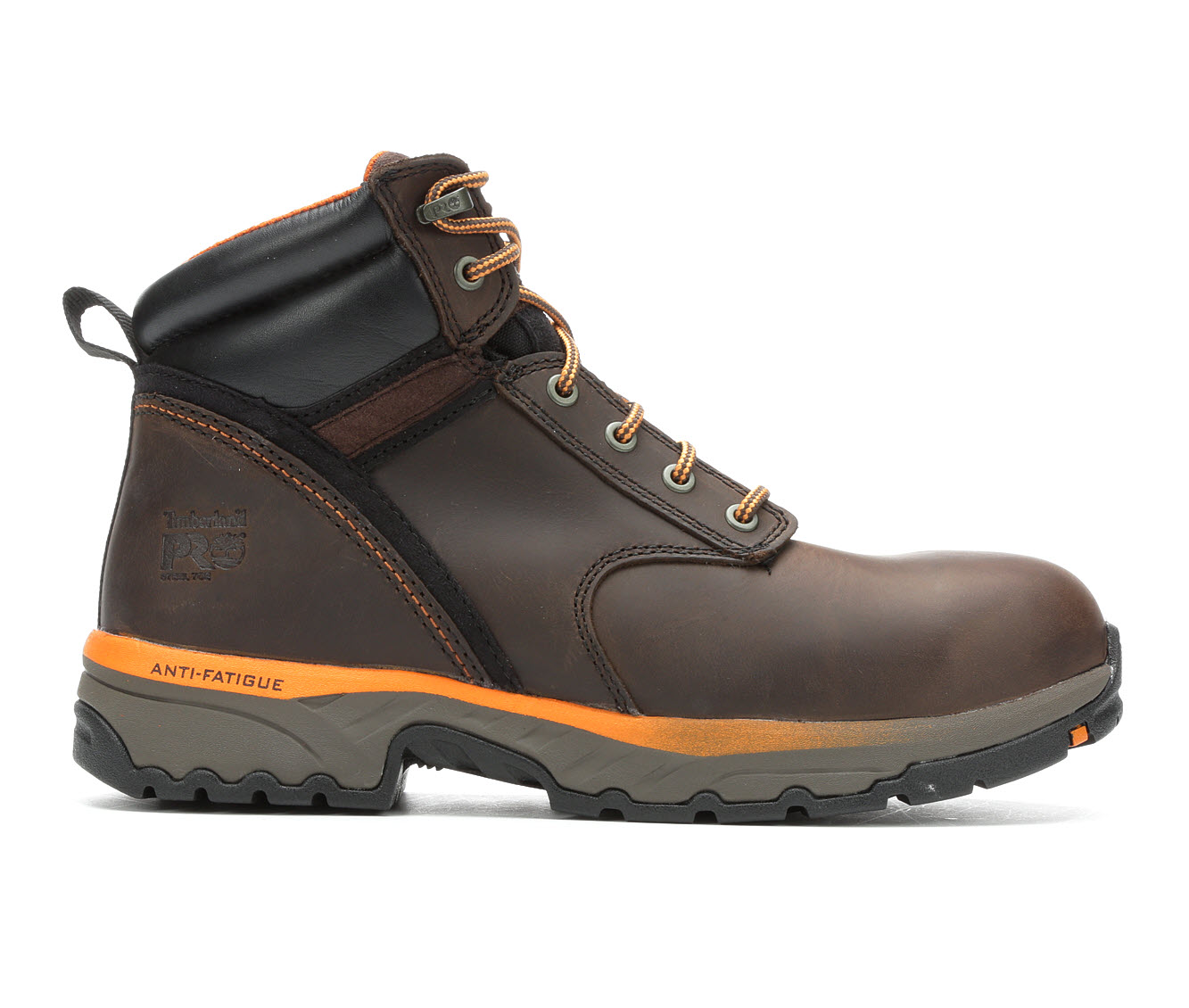 Timberland Pro Jigsaw 6 Inch Steel Toe A1WZ8 Men's Boots (Brown Leather)
