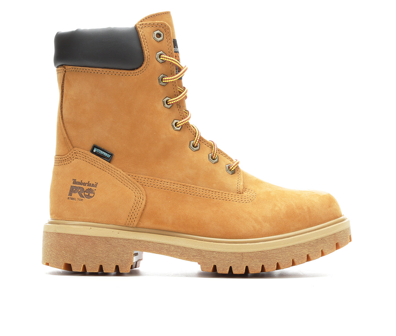 Timberland Pro Direct Attach 26002 Steel Toe Waterproof Men's Boots (Beige Leather)