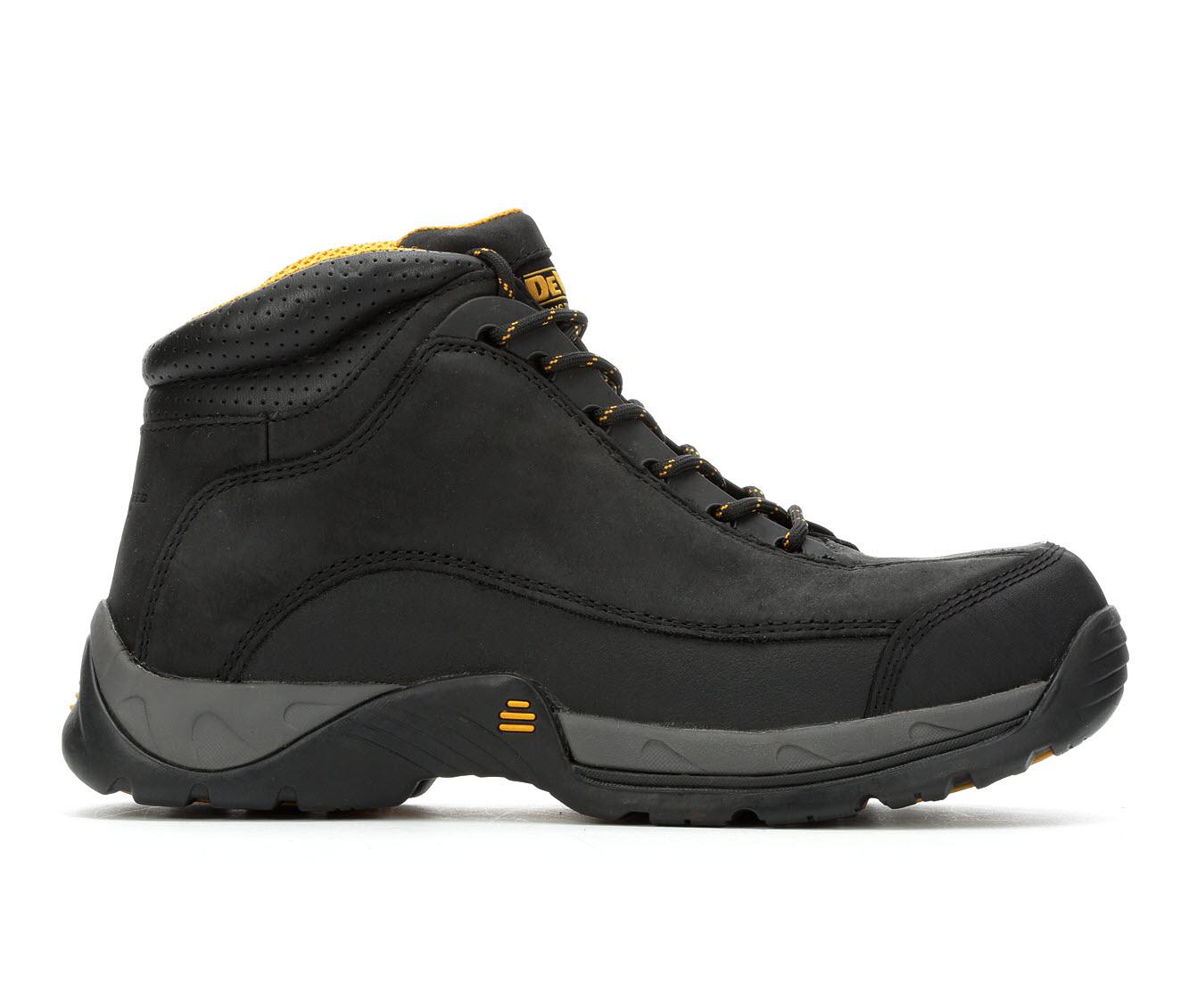 DeWALT Baltimore Steel Toe Hiker Men's Boots (Black Leather)