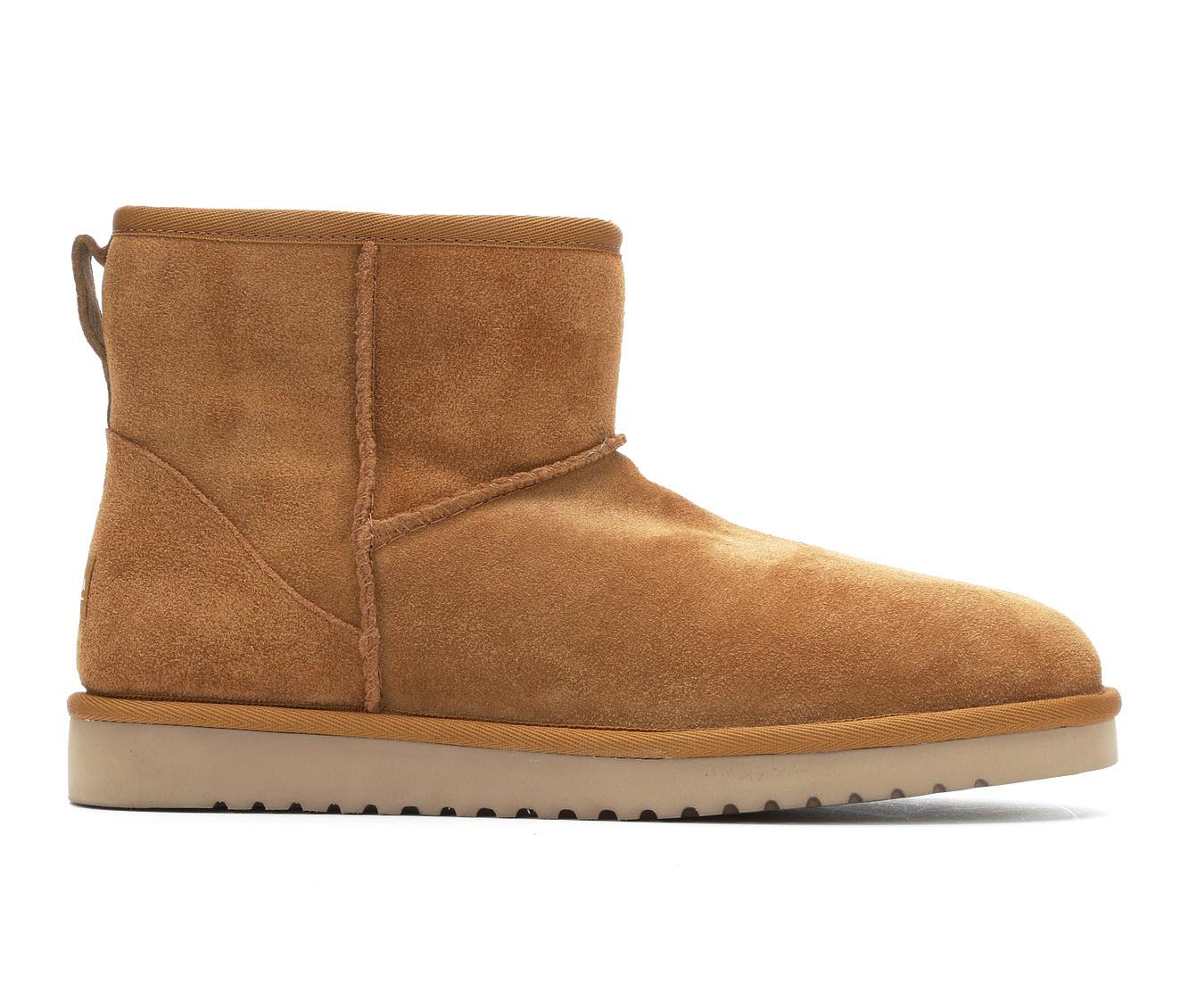 Koolaburra by UGG Burra Mini Men's Boots (Brown Suede)