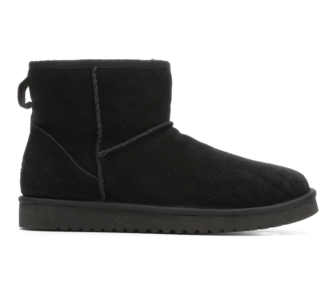 Koolaburra by UGG Burra Mini Men's Boots (Black Suede)