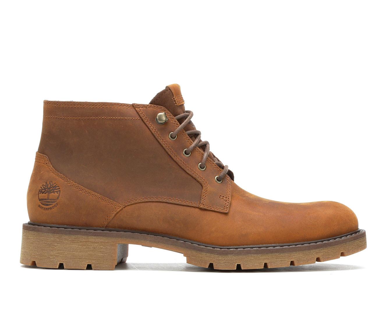 Timberland Elmhurst Chukka Men's Boots (Brown Leather)