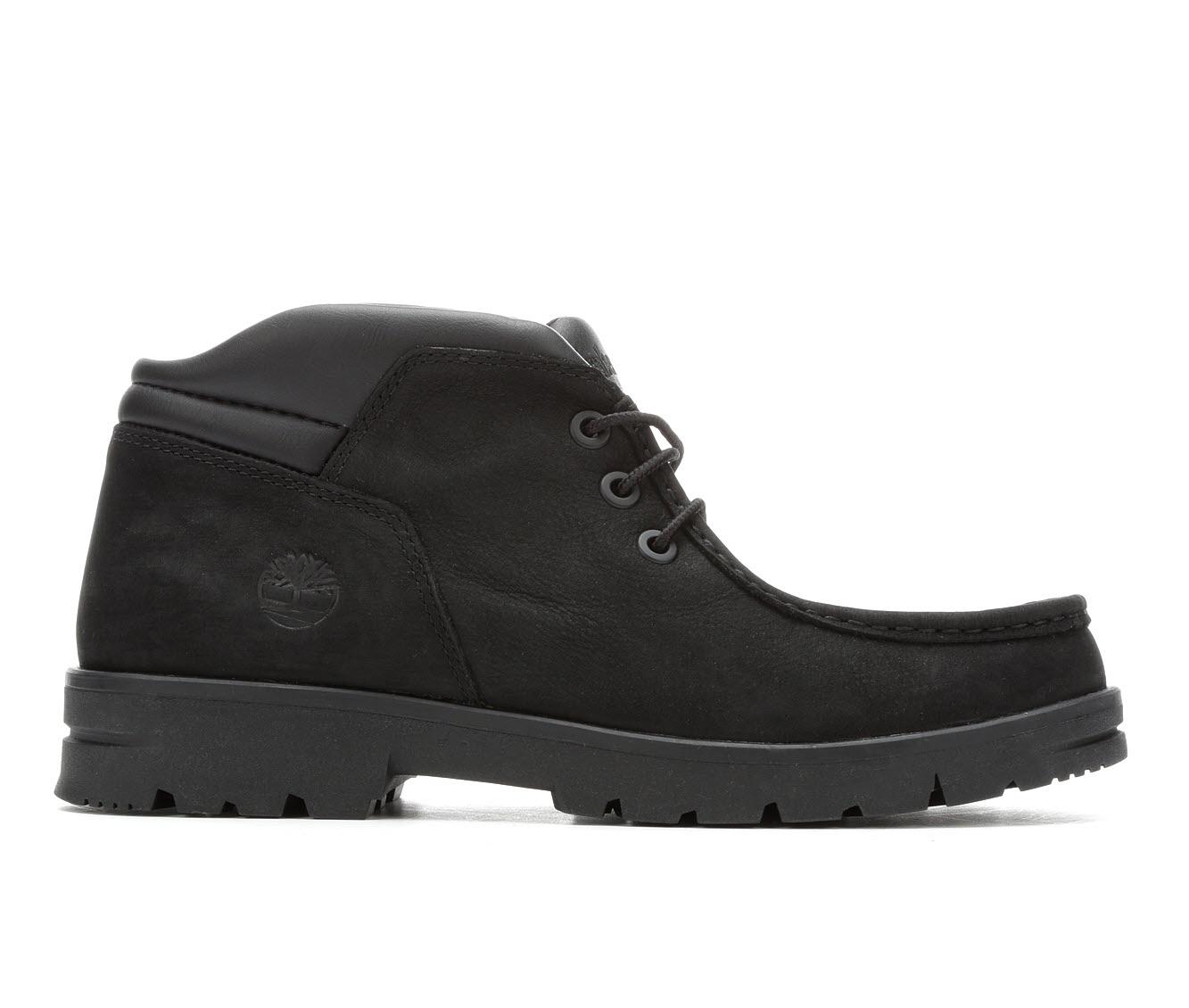Timberland Newtonbrook Moc Toe Chukka Men's Boots (Black Leather)