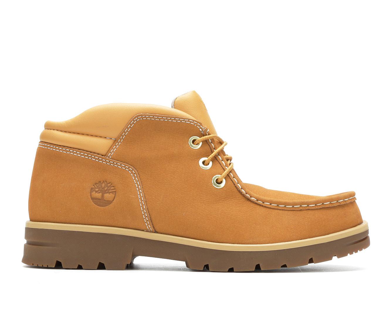 Timberland Newtonbrook Moc Toe Chukka Men's Boots (Beige Leather)