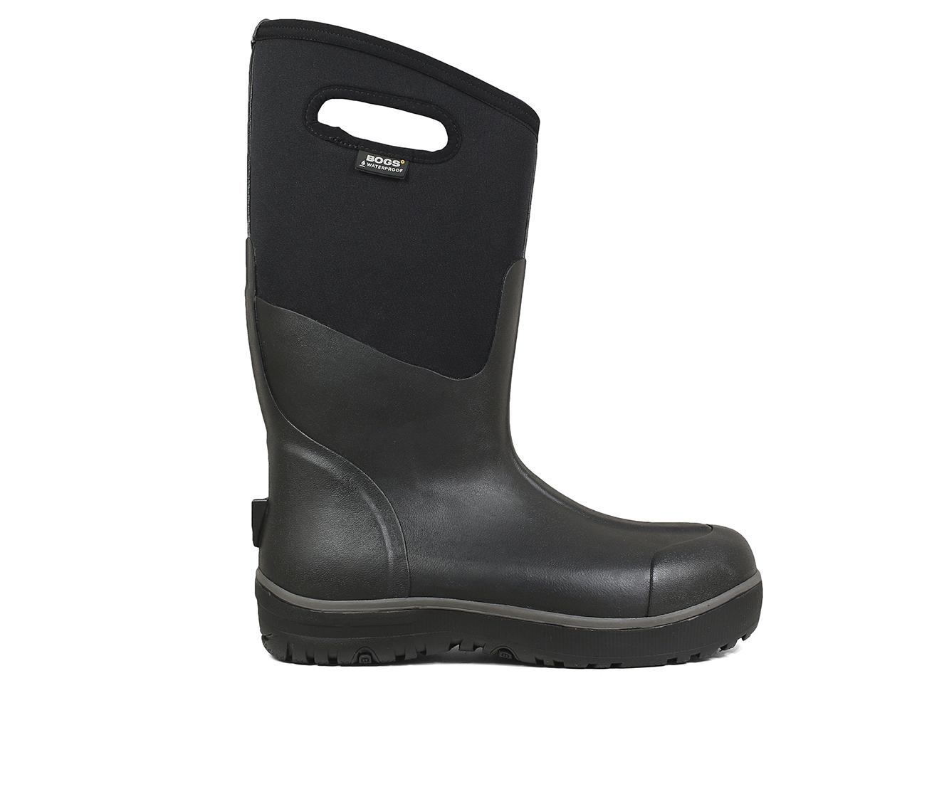 Bogs Footwear Ultra High Waterproof Men's Boots (Black Fabric)