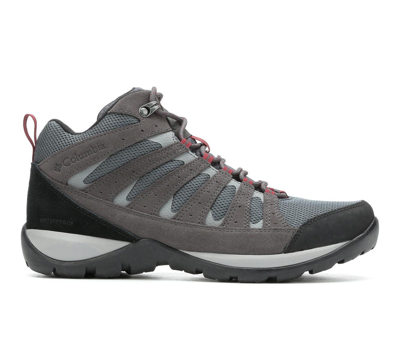 Columbia Redmond V2 Mid Waterproof Men's Boots (Gray)