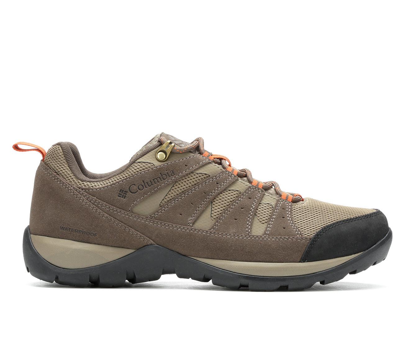Columbia Redmond V2 Low Waterproof Men's Boots (Brown)