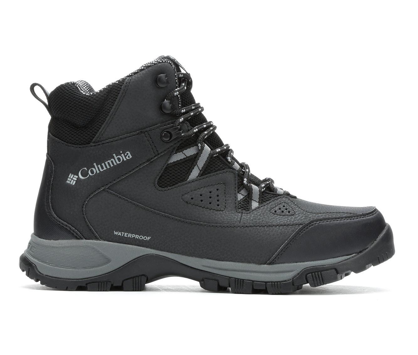 Columbia Liftop III Omni-Heat Men's Boots (Black Leather)