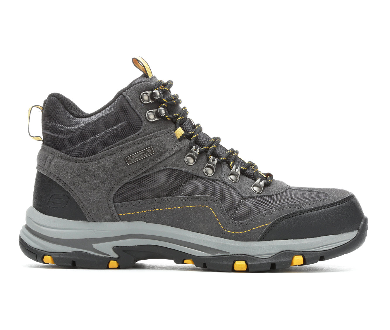 Skechers Pacifico 65672 Men's Boots (Gray Leather)