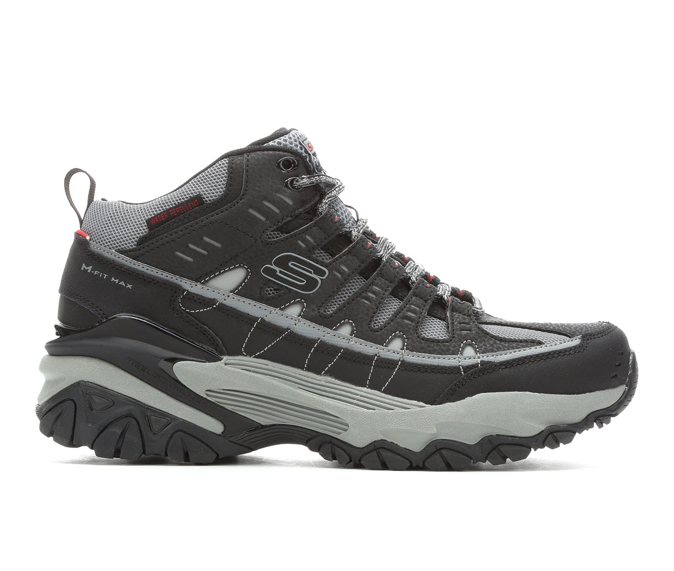Skechers Max 51967 Men's Boots (Black Leather)