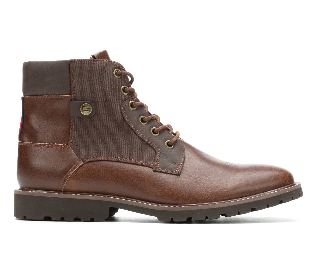 Tommy Hilfiger Bantel Men's Boots (Brown Faux Leather)