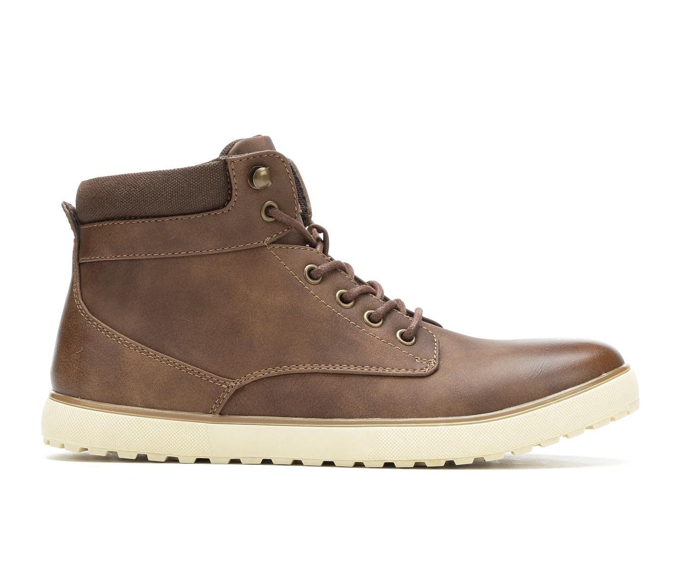 Gotcha Curran Men's Boots (Brown Faux Leather)