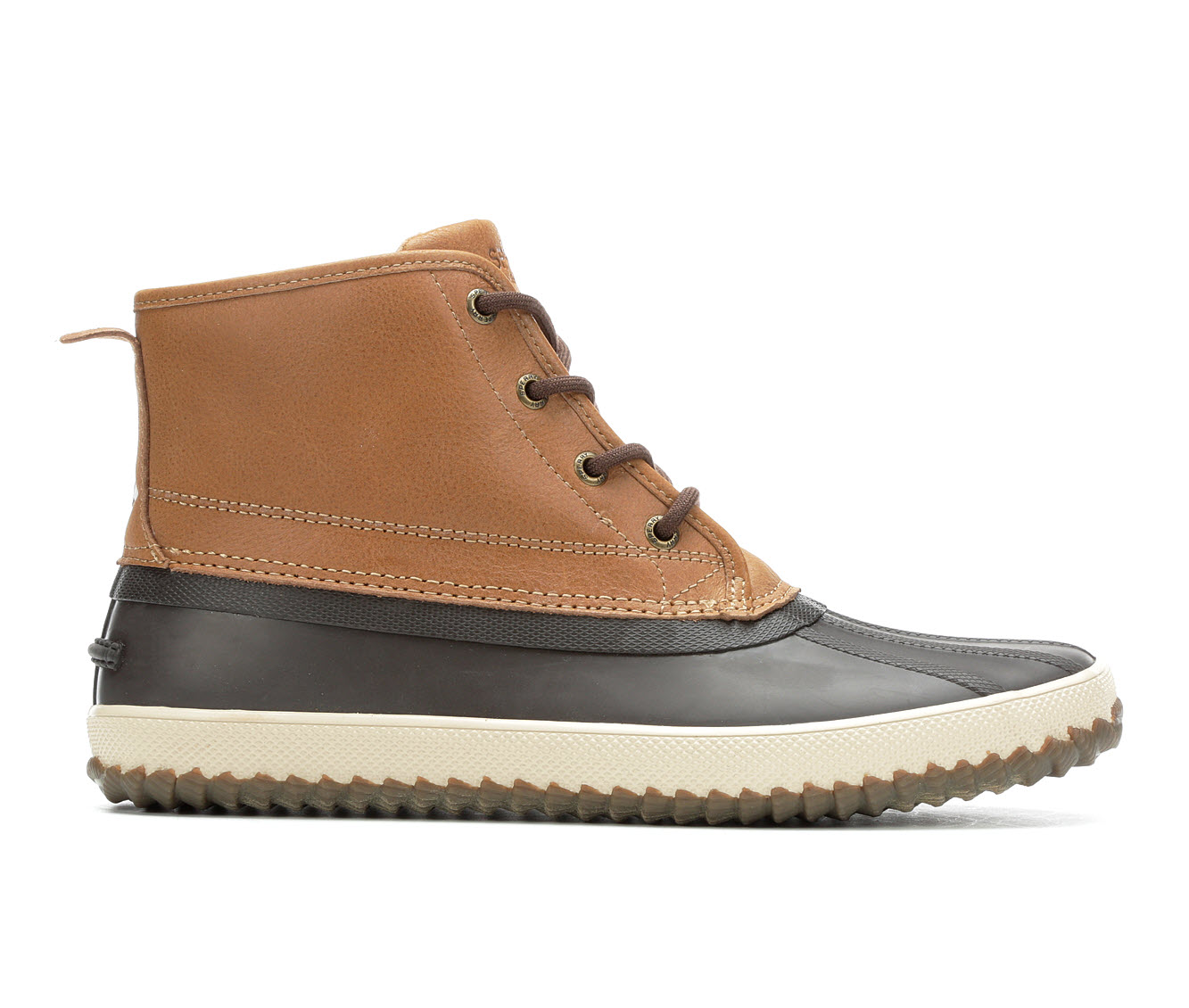 Sperry Breakwater Men's Boots (Brown Faux Leather)