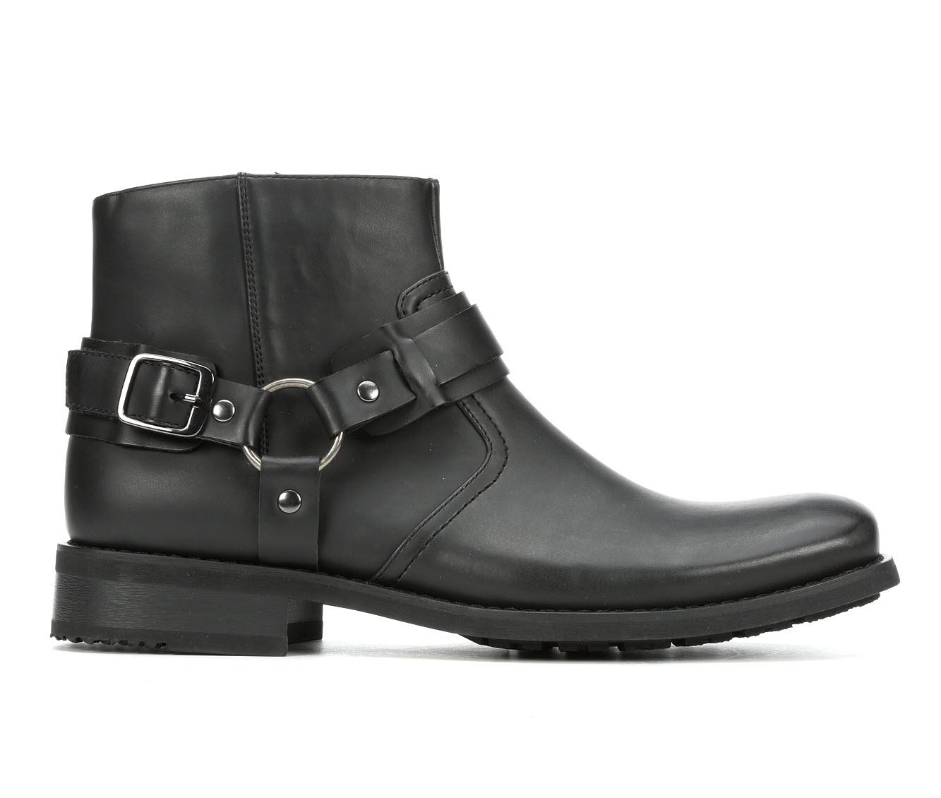 Madden Belon Men's Boots (Black Faux Leather)