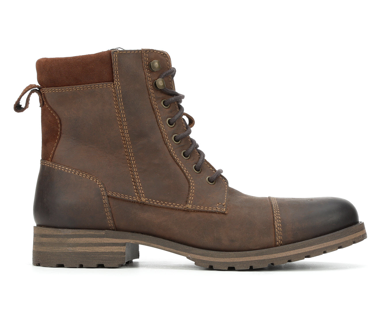 Lucky Brand Grover Men's Boots (Brown Leather)