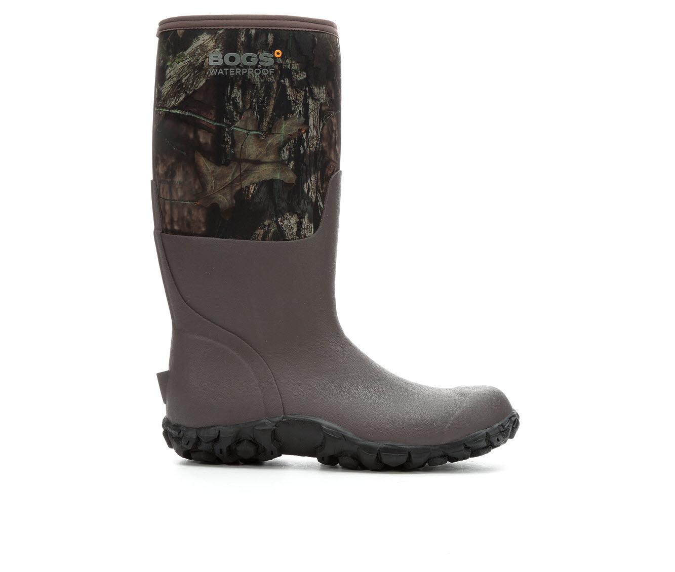 Bogs Footwear Madras Waterproof Men's Boots (Brown Nylon)