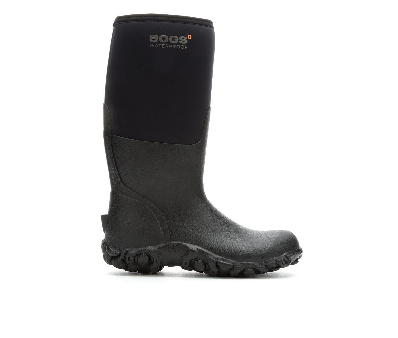 Bogs Footwear Range Waterproof Men's Boots (Black Nylon)