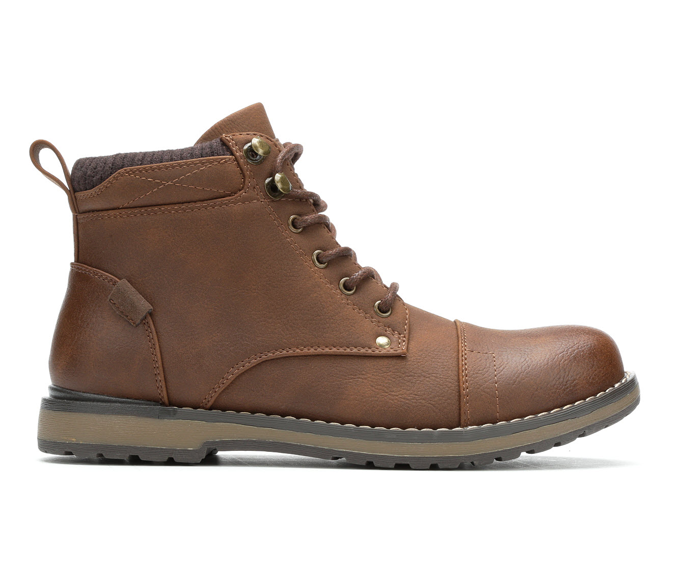 Gotcha Robertson Men's Boots (Brown Faux Leather)