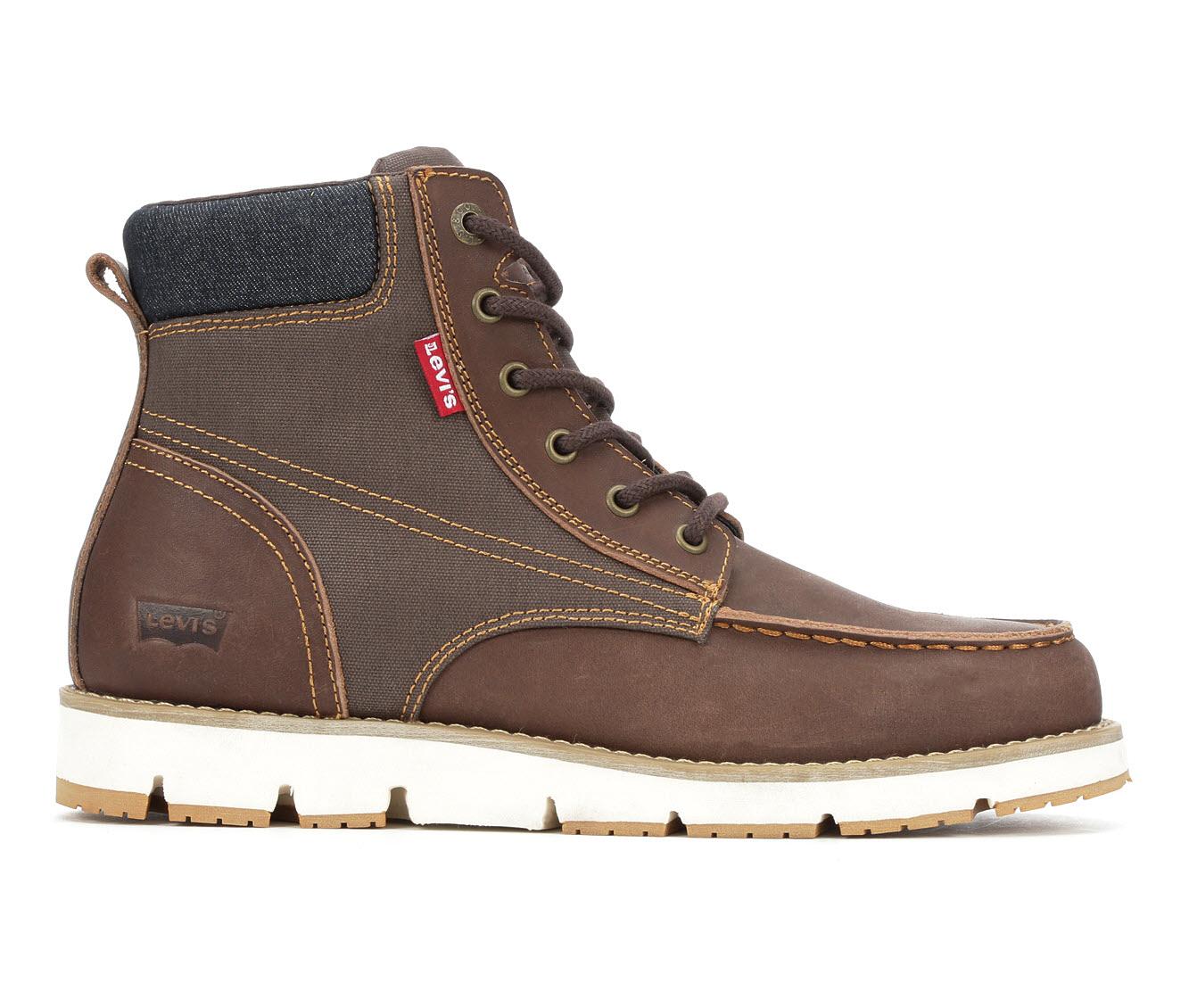 Levis Dean 2.0 Men's Boots (Brown Leather)
