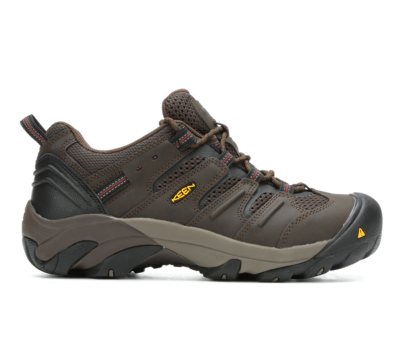 KEEN Utility Lansing Low Steel Toe Men's Boots (Brown)