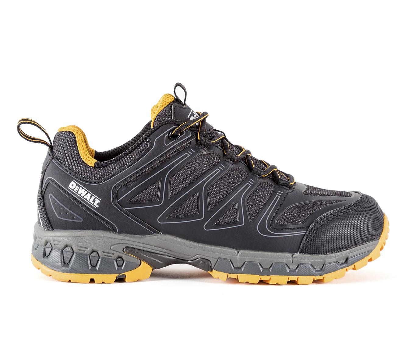 DeWALT Boron Slip Resistant Aluminum Toe Men's Boots (Black)