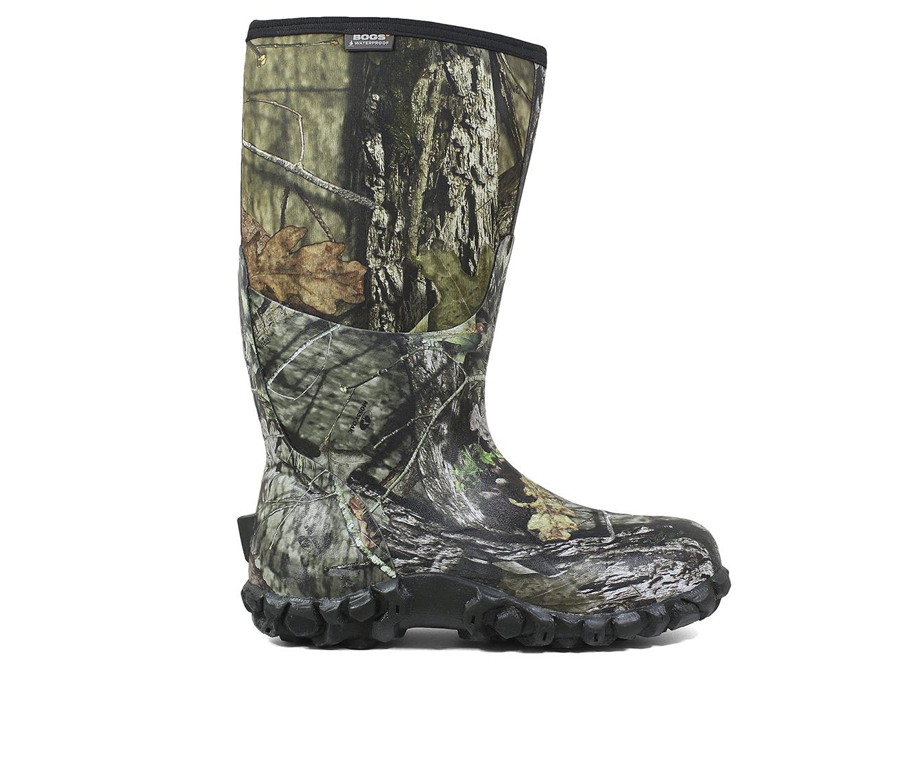 Bogs Footwear Classic Camo Men's Boots (Multi-color Fabric)