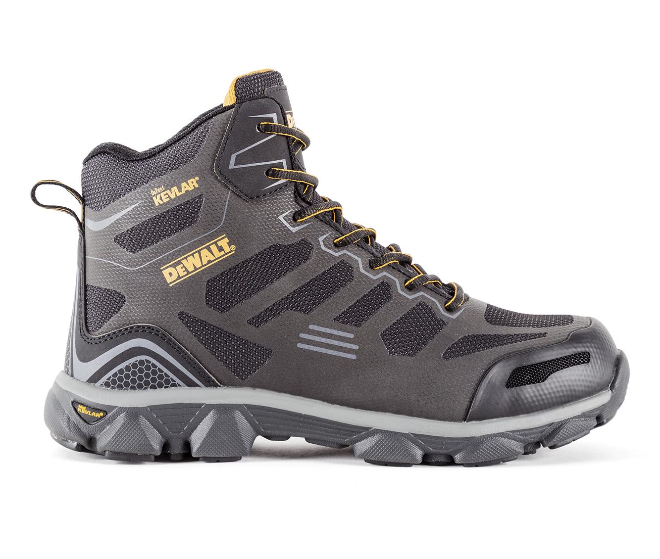 DeWALT Cross Fire Mid Men's Boots (Black Leather)