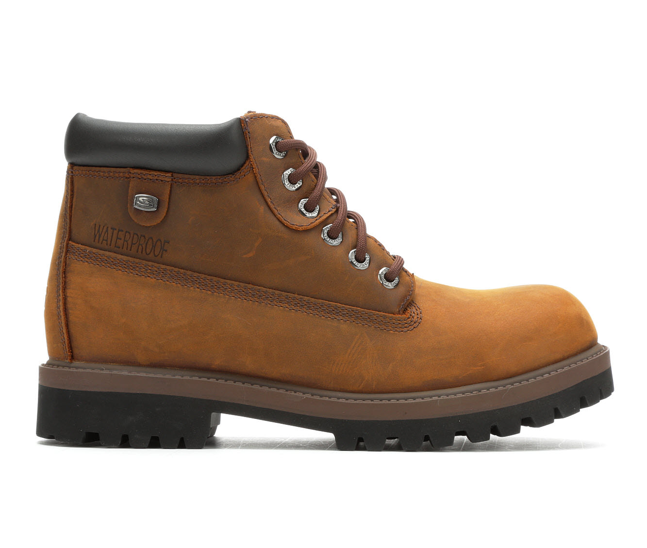 Skechers Verdict Waterproof 4442 Men's Boots (Brown Leather)
